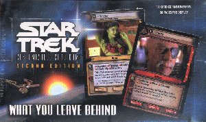 Star Trek 2nd Edition What You Leave Behind Booster Box