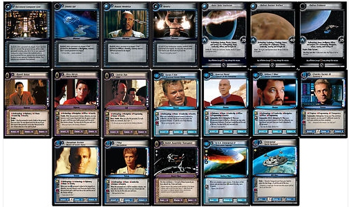 Star Trek Dangerous Missions Complete 19 Card Foil Set