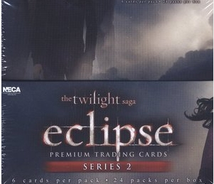 Neca Twilight Eclipse Series 2 Trading Cards Case