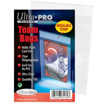 Ultra Pro Resealable Team Bags Pack