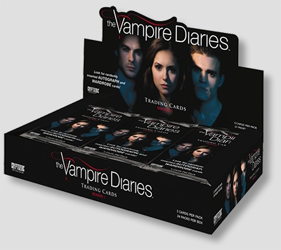 The Vampire Diaries Trading Cards Box