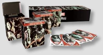Vs System Marvel The Avengers Collector Deck Tins Box