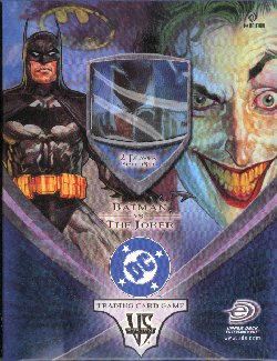 Vs System Batman vs The Joker 1st Edition 2 Player Starter Deck
