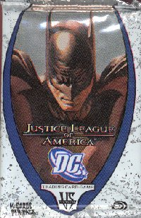 Vs System DC Justice League of America 24 Booster Pack Lot