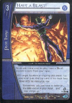 Vs System CCG DC Have A Blast! Rare Card