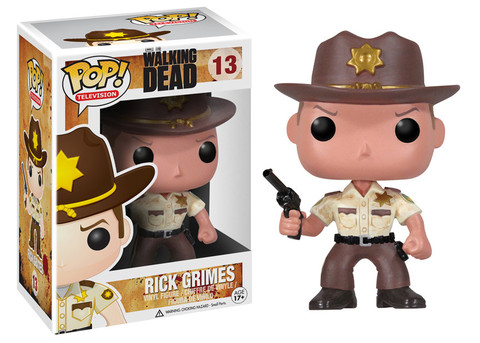 2955 POP TV : WD - Rick Grimes VINYL