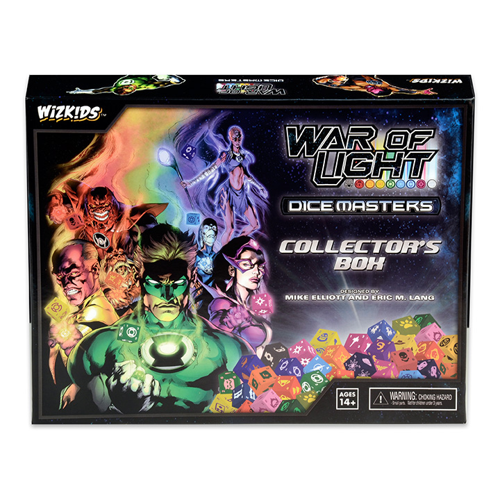 DC Dice Masters: War of Light Dice Building Game Collector Box