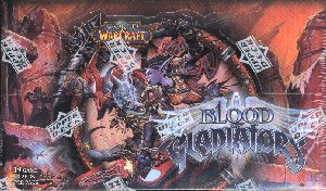 World of Warcraft TCG Blood of Gladiators Booster Box