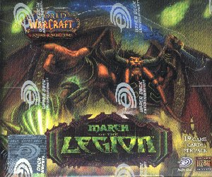 World of Warcraft TCG March of the Legion Booster Box
