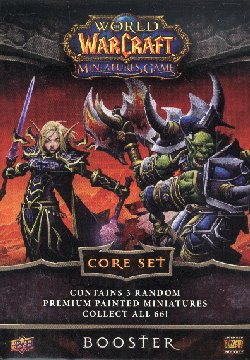 World of Warcraft Miniatures Core Set Booster Pack