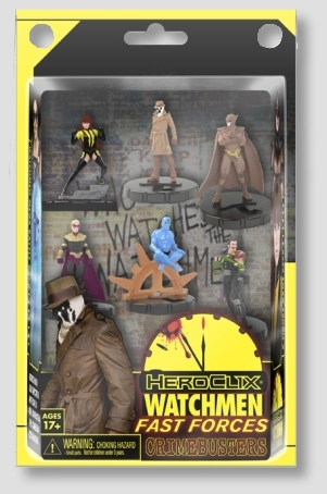 Watchmen HeroClix Miniatures: Crimebusters Fast Forces 6 Pack