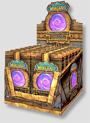 World of Warcraft TCG Dungeon Treasure Pack Display Box