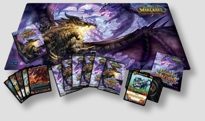 World of Warcraft TCG Twilight of the Dragons Epic Collection Box