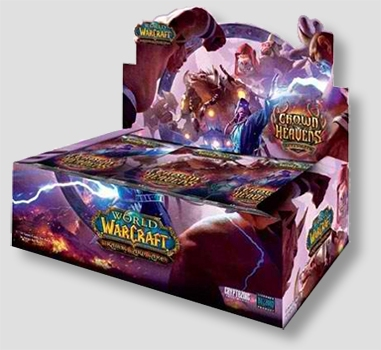 World of Warcraft TCG Aftermath: Crown of Heavens Booster Case