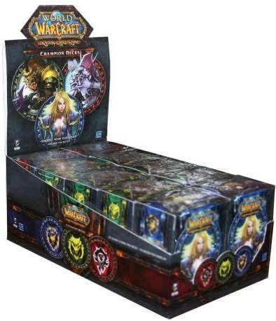 World of Warcraft TCG Champion Decks Display Box
