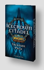 World of Warcraft TCG Assault on Icecrown Citadel Treasure Pack Box Case