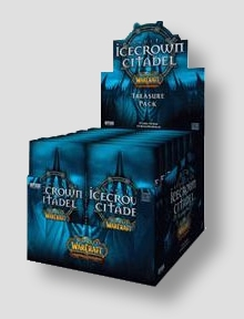 World of Warcraft TCG Assault on Icecrown Citadel Treasure Pack Box