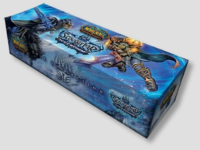 World of Warcraft TCG Icecrown Booster Case