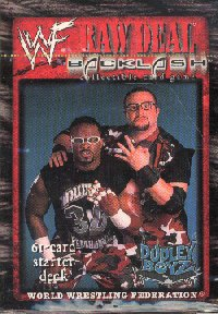 WWE Raw Deal Backlash Get The Table Starter Deck