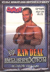 WWE Raw Deal Insurrextion Toothless Aggression Starter Deck