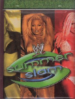 WWE Raw Deal Summer Slam Tin