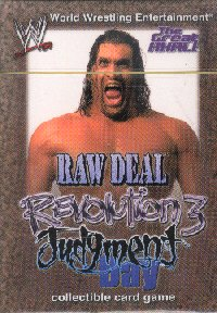 WWE Revolution 3 Judgment Day The Great Khali Starter Deck