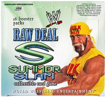 WWE Raw Deal Summer Slam Booster Box