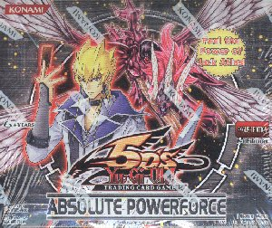 Yu-Gi-Oh! 5D's Absolute Powerforce Booster Box