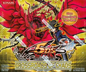 Yu-Gi-Oh! 5Ds Crossroads of Chaos Booster Box