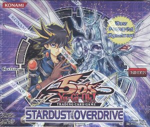 Yu-Gi-Oh! 5Ds Stardust Overdrive Booster Box