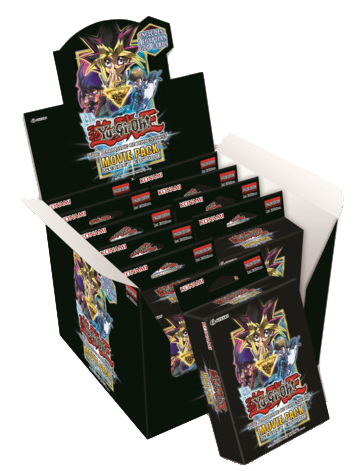 Yu-Gi-Oh! Movie Pack: The Dark Side of Dimensions Movie Pack Special Edition 10ct Display Box
