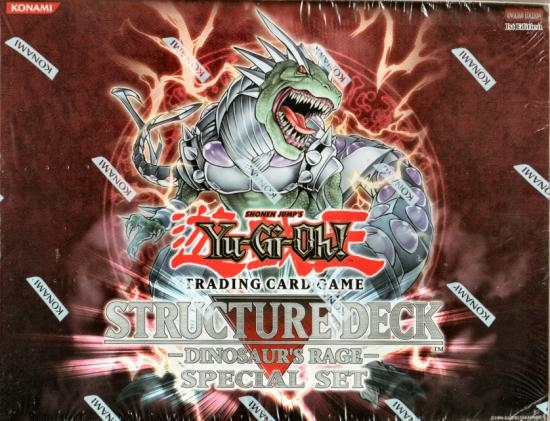 Yu-Gi-Oh! Dinosaurs Rage Special Edition Box