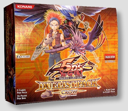 Yu-Gi-Oh! 5D's Duelist Crow Booster Box