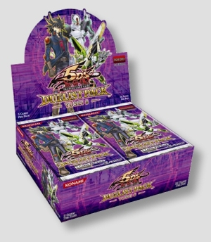 Yu-Gi-Oh! 5Ds Yusei 3 Duelist Pack Booster Box