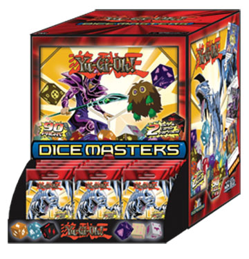 Yugioh Dice Masters: Series 1 Dice Building Game 90ct Counter-top Display