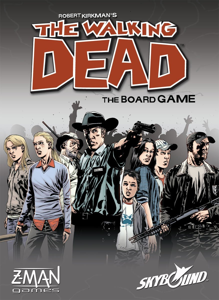 Z-Man Walking Dead Board Game